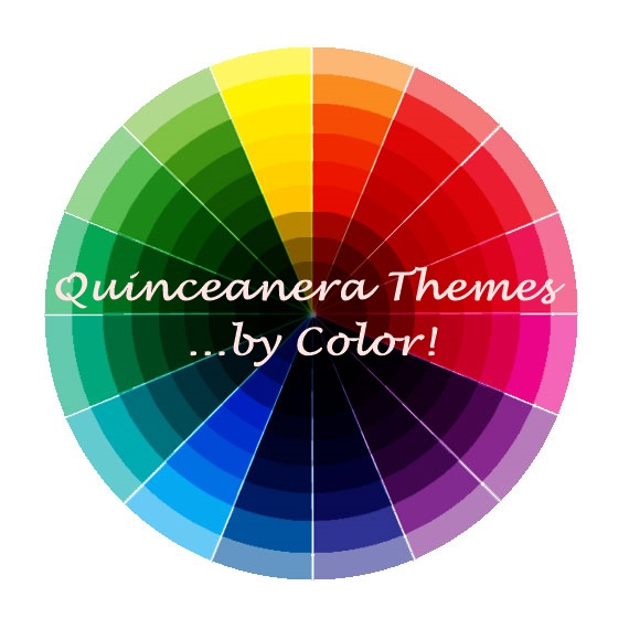 quincanera themes colors