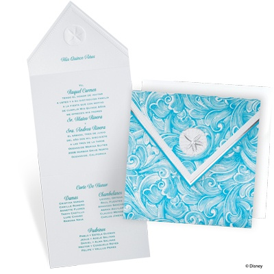 under the sea quinceanera theme   my perfect quince, Birthday invitations