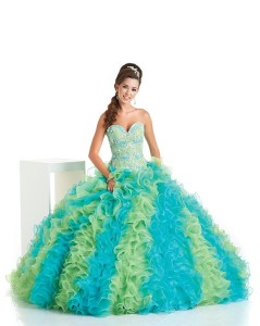 Under the Sea quinceanera dress