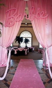 barbie themed quinceanera