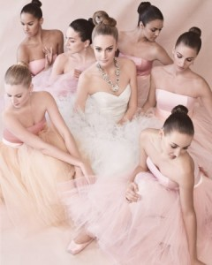 This would be a beautiful look for you and your damas Source: Martha Stewart Weddings