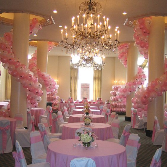 Quinceanera decorations xv supplies from for Balloon decoration ideas for quinceaneras