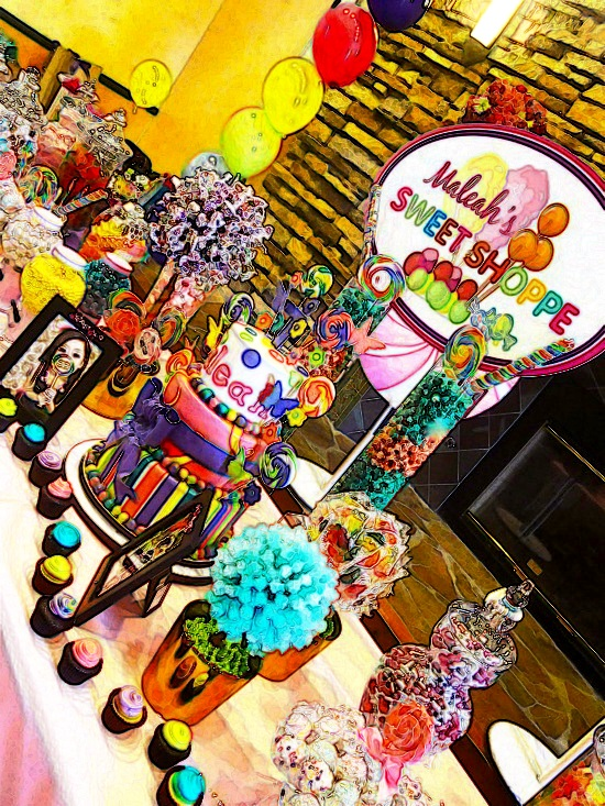 candyland theme quinceanera