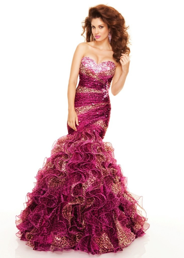 pink and leopard print quinceanera