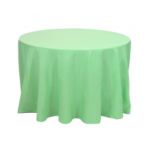 Mint tablecloth