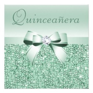 A mint pink and gold quinceanera my perfect quince mint quinceanera invitations from zazzle solutioingenieria Image collections