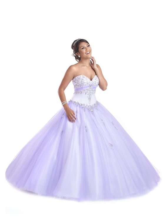purple quinceanera dress