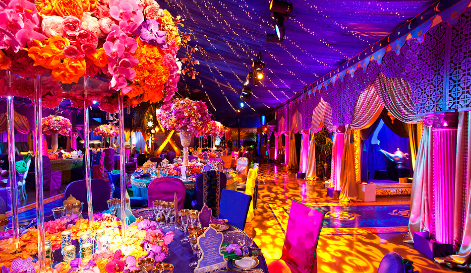 Create an arabian nights theme my perfect quince for Arabian nights decoration ideas