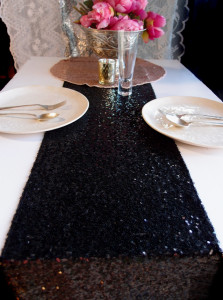 quinceanera table runner
