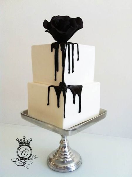 Halloween quinceanera theme cake