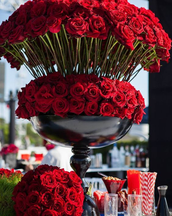 916b20b1a2c Designing a Red Roses Quinceanera Theme - My Perfect Quince