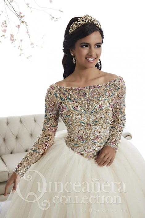 eb963d9a82f 5 Long-Sleeved Quinceanera Dresses - My Perfect Quince