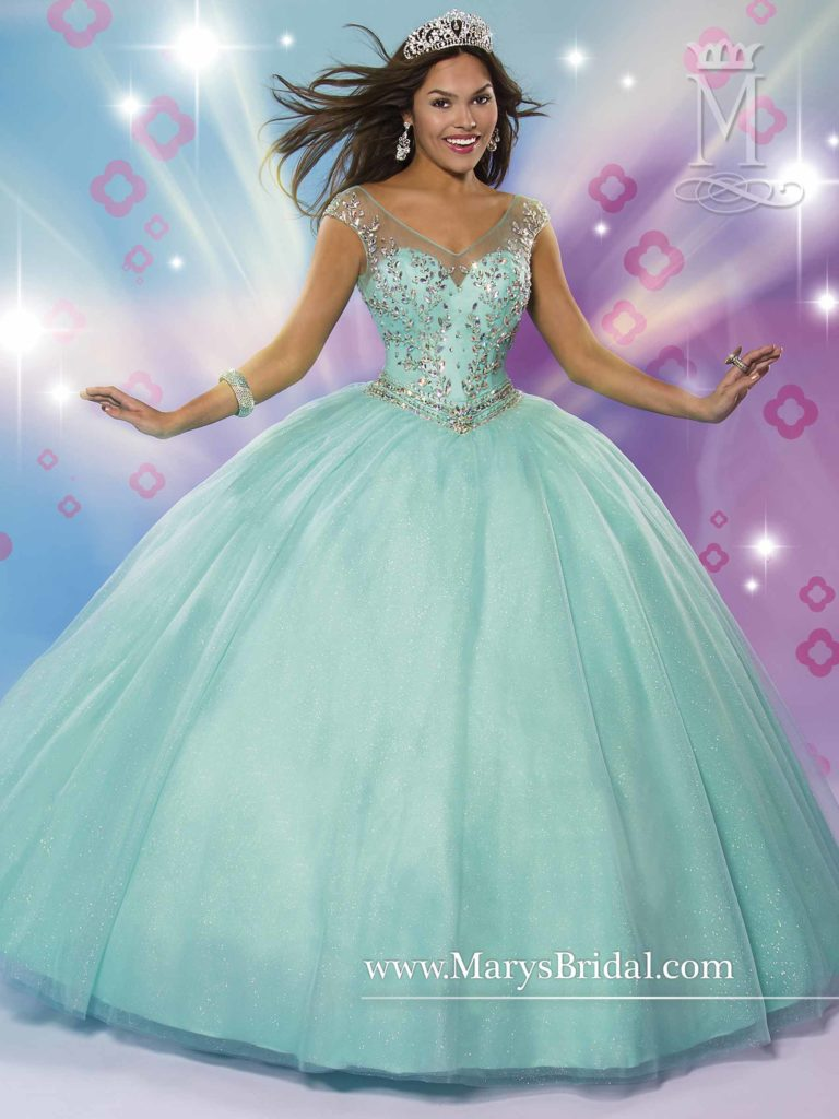b5e3b71e95 Tiffany Blue Quinceanera Dresses